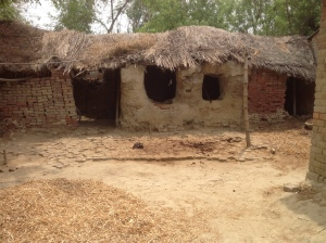 A typical house in Amethi villages